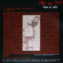 Eiterherd - 1984 vs. 1999 / Vision vs. Reality (1999)